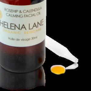 Helena Lane Rosehip & Calendula Calming Facial Oil
