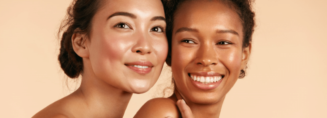 two women smiling - Green Beauty Expert