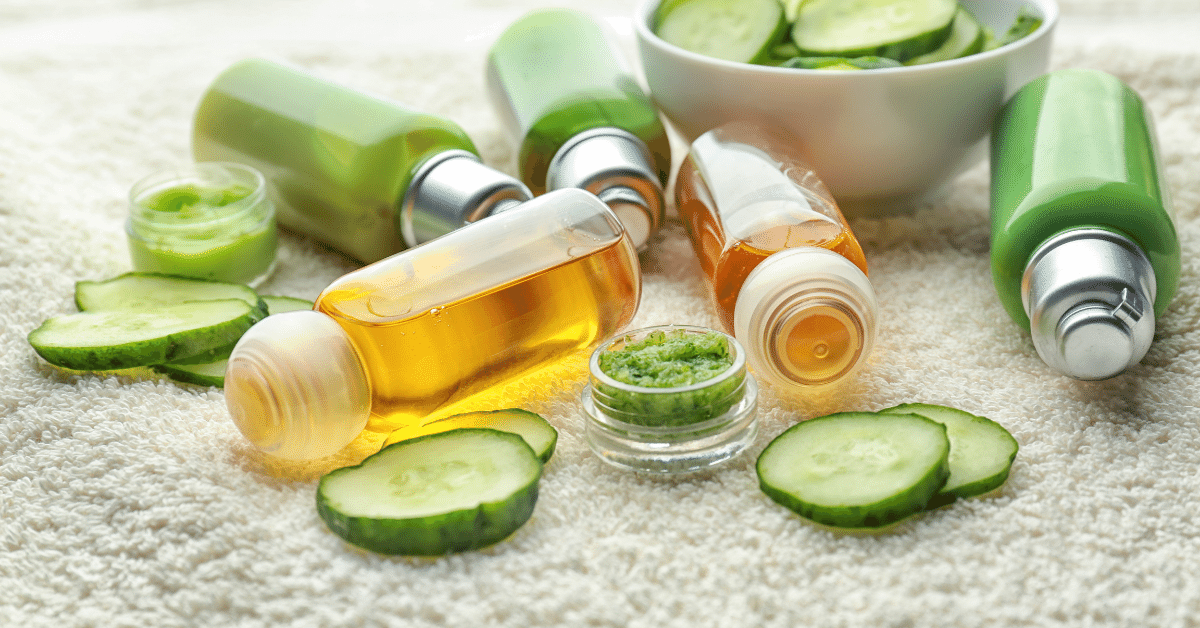 Green beauty Clean products